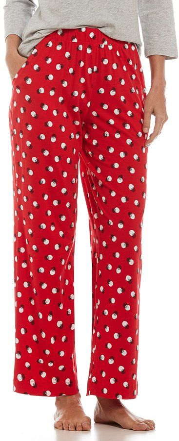 Sleep Sense Snow Dot Sleep Pants