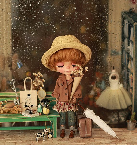 ~~Miss yo 2015 Spring & Summer~~ Set include: 1 Light Brown color Short Wind Coat for Blythe doll. Total 1 pcs; Wish you would like it. UP