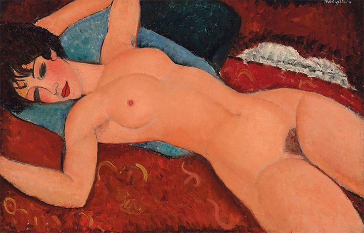 """Tabloul """"Nud culcat"""" de Modigliani s-a vândut pentru suma record de 170,4 de milioane de dolari - http://herald.ro/evenimente/arte-vizuale/tabloul-nud-culcat-de-modigliani-s-a-vandut-pentru-suma-record-de-1704-de-milioane-de-dolari/"""