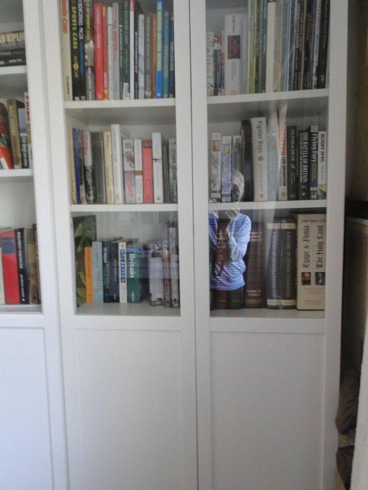 Ikea Billy Bookcase Doors x 4