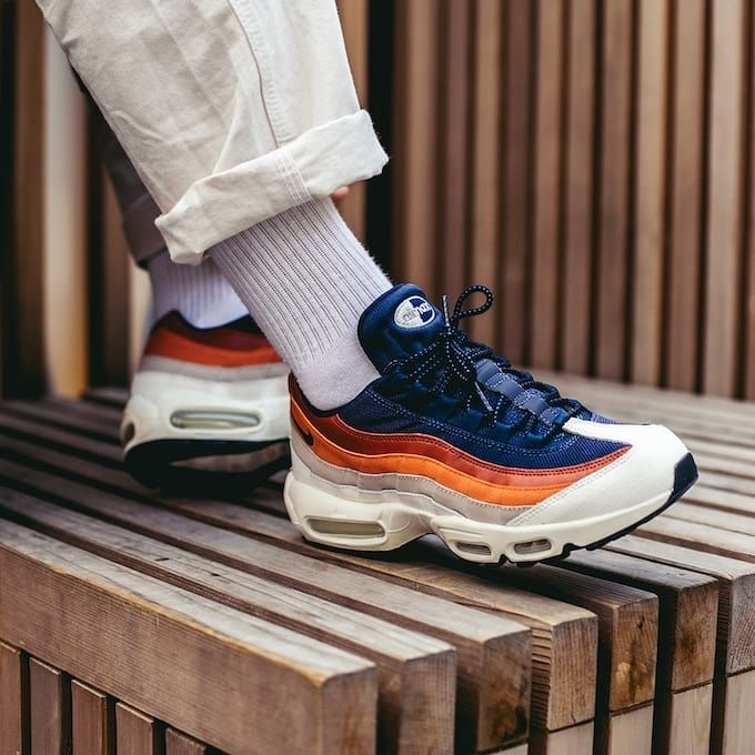 lamentar Lima Integración  Burnt Sunset Gradient NIKE AIR MAX 95 ESSENTIAL Available | Price - N25000  | Including delivery | All size… | Mens summer outfits, Mens nike shoes,  Nike air max 95
