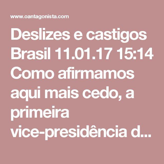 """Deslizes e castigos  Brasil 11.01.17 15:14 Como afirmamos aqui mais cedo, a primeira vice-presidência do Senado deverá ficar com o PSDB, mesmo que o PT chore. O nome indicado é o de Cássio Cunha Lima, da Paraíba.  No fim do ano passado, o senador disse a uma rádio local que Michel Temer """"vai enfrentar uma dificuldade grande"""" para concluir seu mandato e defendeu a tese de """"novas eleições"""".  O Antagonista apurou que o Palácio do Planalto, óbvio, não gostou nem um pouco da entrevista e queria…"""