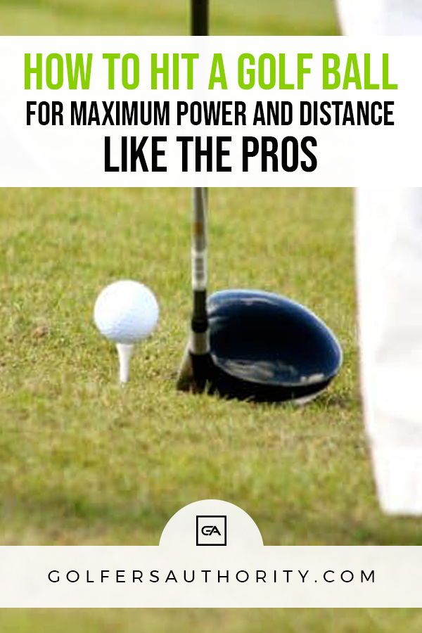 The Secret To Hitting A Golf Driver Straight And Far Golfers Authority Golf Drivers Golf Lessons Golf