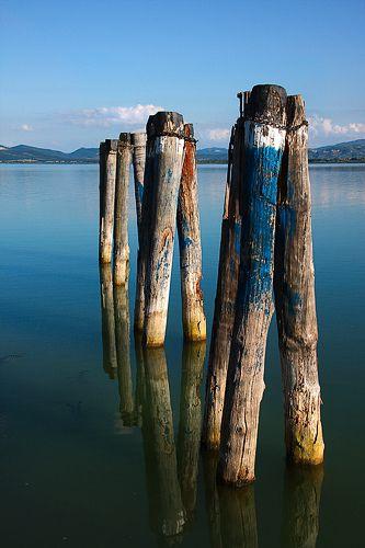 Trasimeno mee (Lago Trasimeno) in Umbrie, Italie | www.regioneumbria.eu