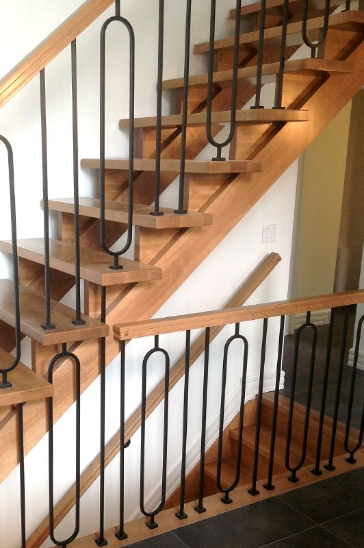 83 best images about escaliers et garde corps tendance stairs railings contemporary on. Black Bedroom Furniture Sets. Home Design Ideas