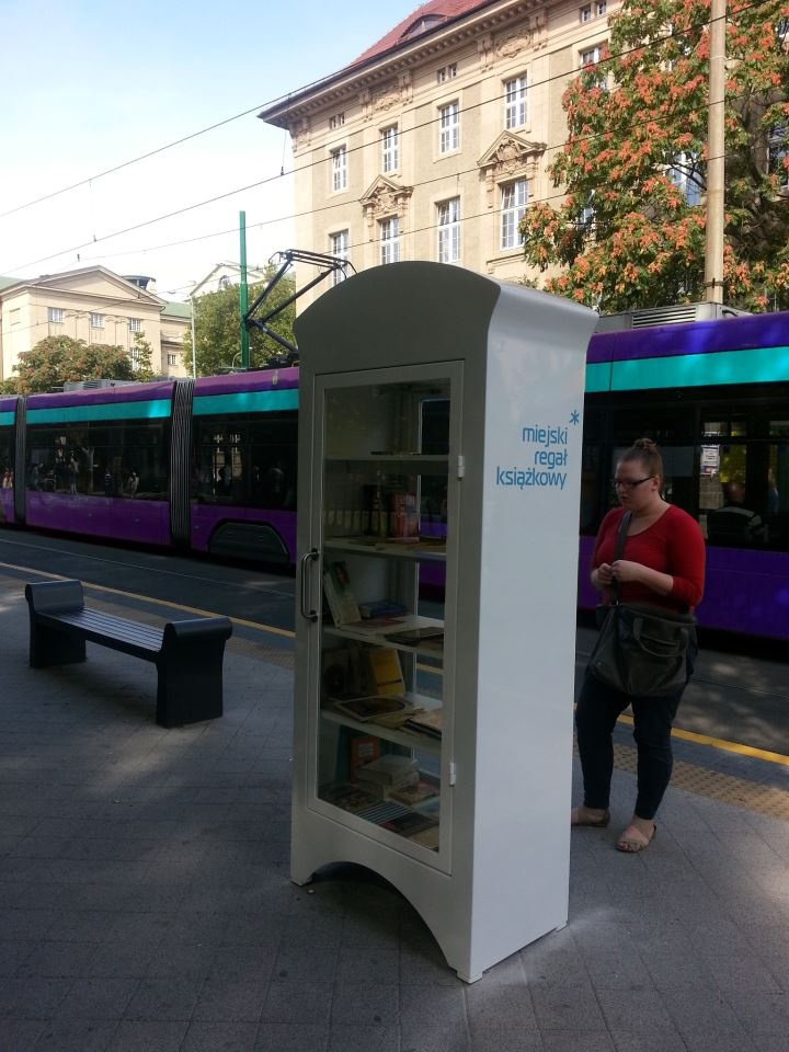 Bookcrossing in Poznan, Poland