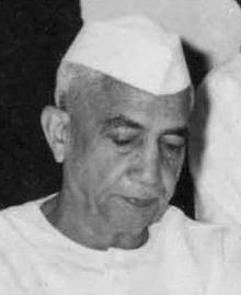 Charan Singh  (1902-1987) Premier Ministre (1979-1980)