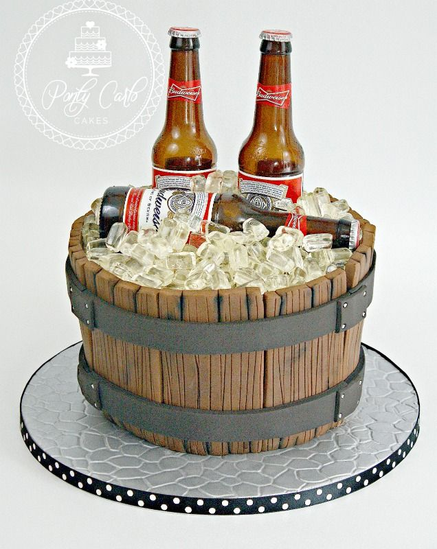 Beer Cake Design Ideas : Best 20+ Beer Birthday Cakes ideas on Pinterest ...