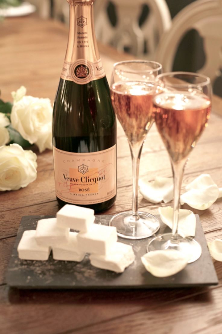 Vogue Eats: Champagne and Marshmallows by Veuve Clicquot