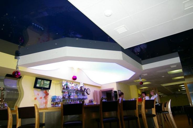 Behind the stretch ceiling it is possible to hide wires, ventilation systems and more. On the surface of the ceiling you can install lamps, smoke detectors, ventilation openings etc. Your retailer in Finland is: www.cioy.fi #ledlights #valokatto #sisäkatto #strechceiling