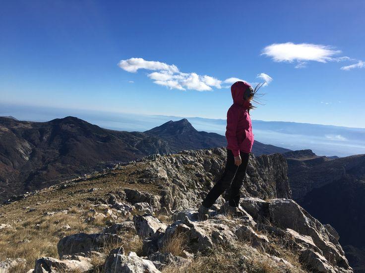 Dalla cima della Timpa di San Lorenzo