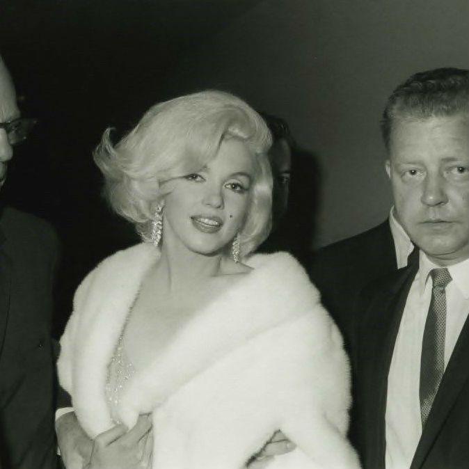 MARILYN MONROE at JFK's Birthday Party 1962