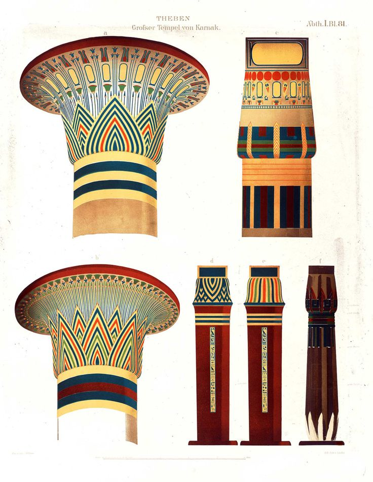 Column Design Egypt Art Ancient Egypt Ancient Art Temples Fred Tattoo