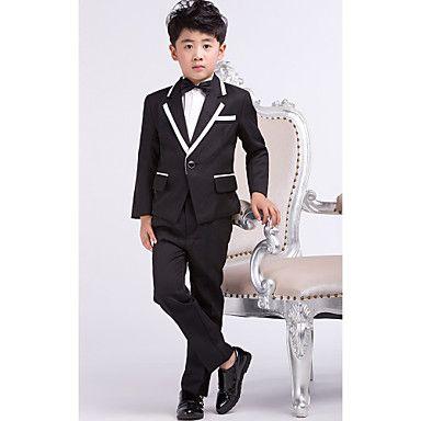 anneau costumes de smoking habillé porteur page noire garçon tenues (1226514) - CAD $ 62.49