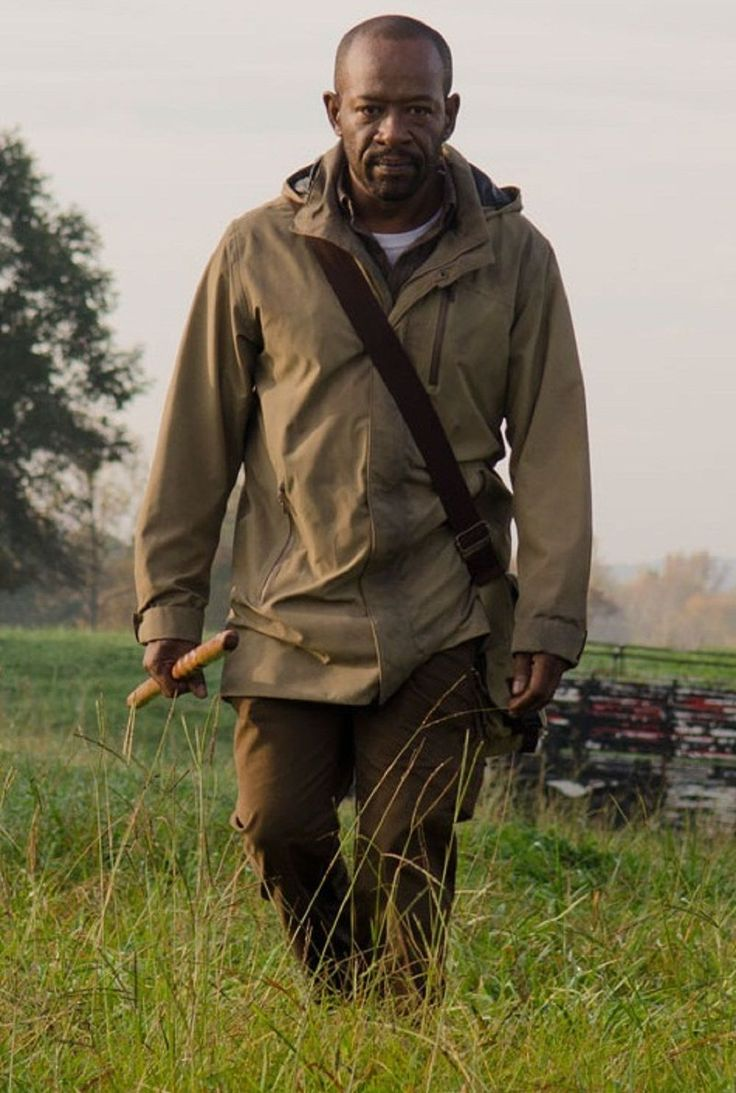 "The best Morgan Jones jacket craft from the well-known TV series The Walking Dead Season 7 now available in our online store ""Xtreemleather"" The super hot Lennie James  worn this elegant Fawn jacket in series and plays the supportive role of Morgan Jones. Hurry be the first one to get this jacket and give surprise to your friends."