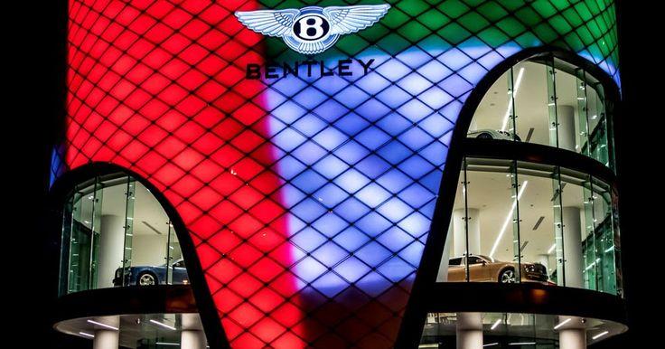 World's Largest Bentley Dealership Opens In... You Guessed It: Dubai [w/Video] #Bentley #Bentley_Videos