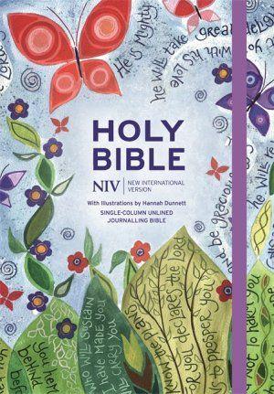 NIV Journalling Bible Illustrated by Hannah Dunnett | Free Delivery @ Eden.co.uk