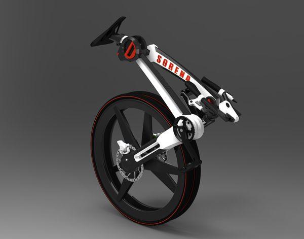 Designer cria bicicleta dobrável e que se ajusta ao tamanho do ciclista.    Veja mais em:    http://www.techtudo.com.br/curiosidades/noticia/2012/10/designer-cria-bicicleta-dobravel.html?utm_source=facebook_medium=social_campaign=editorial