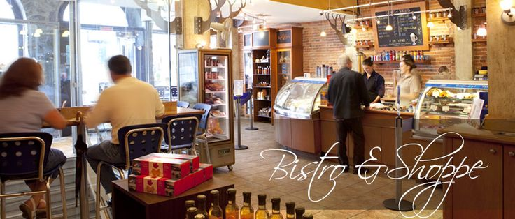 Maple products shop, Bistro Café Bakery – Canadian Maple Delights – Montreal Quebec Vancouver