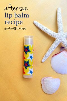 After Sun Lip Balm soothing for sunburned lips