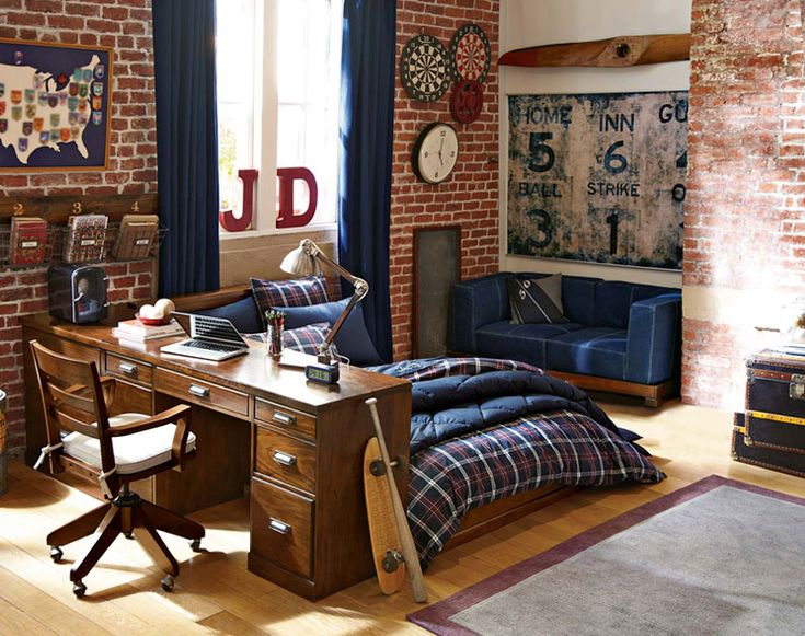 Teenage Guys Bedroom Ideas | All in One | PBteen