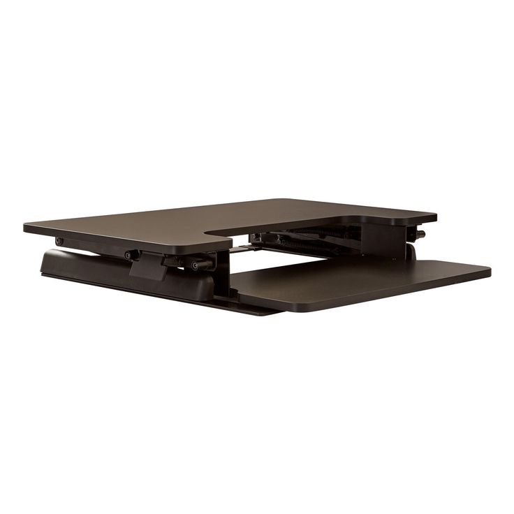 Office Star OSP Designs Desk Riser With 10-Position Height Adjustment And Dual Handles