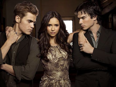 Damon, Elena and Stefan, Vampire Diaries #TVD