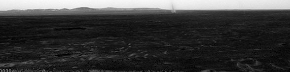 """These are dust devils, strong whirlwinds of hot air, occuring on Mars. Compared to the terrestrial dust devils, Martian ones are very common there and can be up to fifty times as wide and ten times as high. Large ones may pose a threat to technology sent to Mars.  If humans make it to Mars, the dust devils pose potential hazards to them as well. """"If Martian dust devils are highly electrified, as our research suggests, they will increase the tendency for dust to stick to space suits and…"""