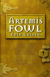 """2001 Artemis Fowl is a young-adult fantasy novel written by Irish author Eoin Colfer. It is the first book in the Artemis Fowl series, followed by Artemis Fowl: The Arctic Incident. Described by its author as """"Die Hard with fairies"""",[1] it follows the adventures of Artemis Fowl, a twelve-year-old criminal mastermind, as he kidnaps a fairy for a large ransom of gold."""