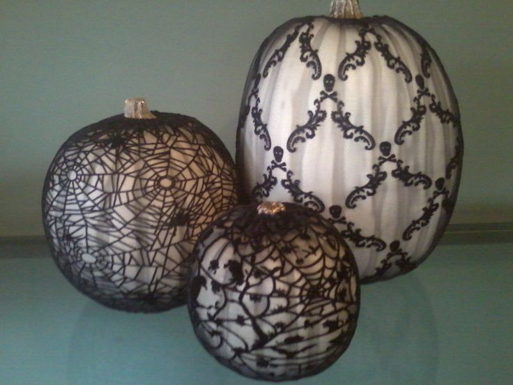 Martha Stewart: Pumpkin lace sleeves @ Michaels Craft Store