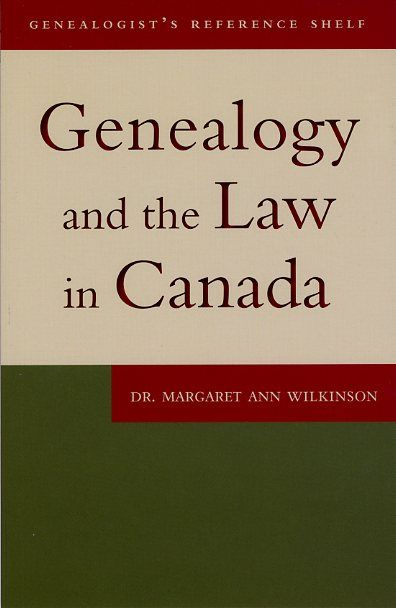Digital records and broad access to the Internet have made it easier for genealogists to gather relevant information from distant sources and to share the information they have gathered This book discusses how specific laws – access to information, personal data protection, libel, copyright, and regulation of cemeteries – apply to anyone involved in genealogical research in Canada. $19.99 from the OGS eStore…