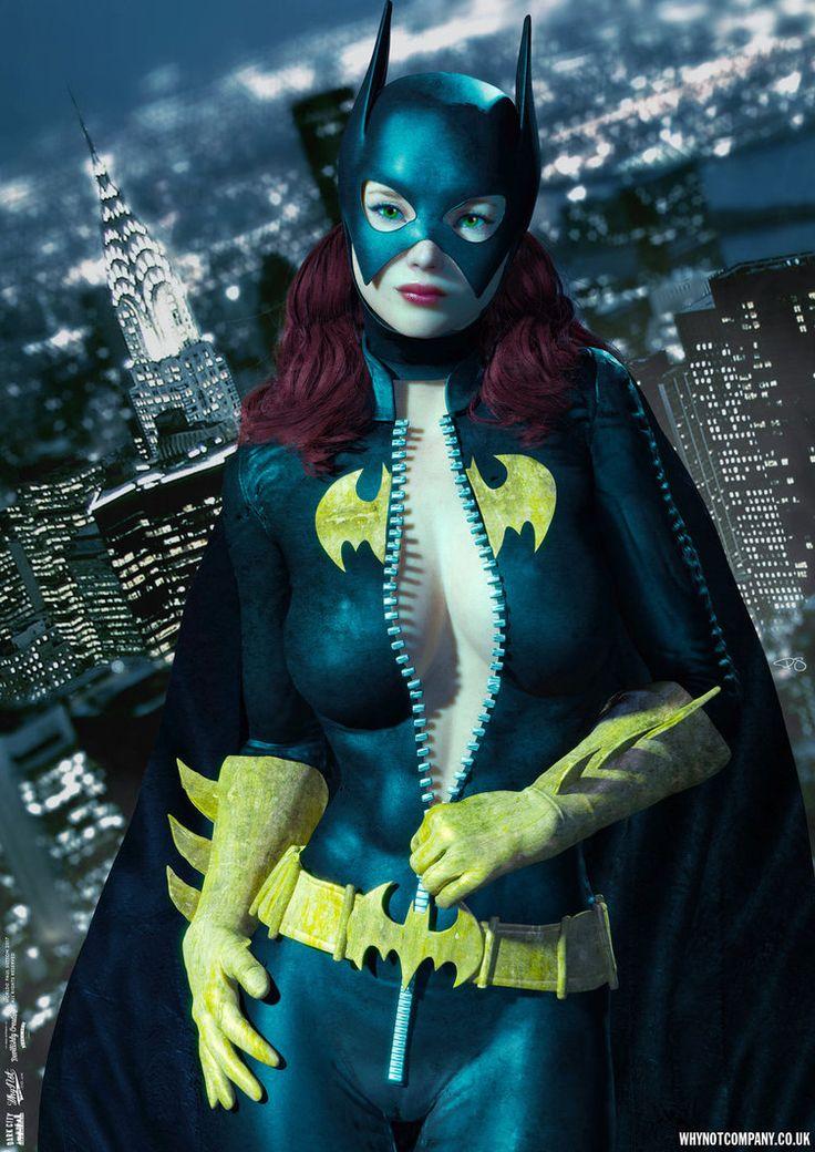 Batgirl Busted! by DevilishlyCreative.deviantart.com on @DeviantArt
