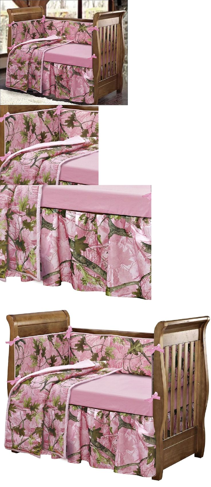 Owl crafts baby bedding nursery decor nursery crafts forward pink owl - Baby Kid Stuff Woodsy Crib Bedding Pink Camo Girl Nursery Baby Decor Gift Infant Bedroom