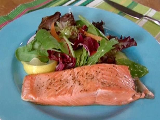 Get Coho Salmon Fillets Recipe from Food Network
