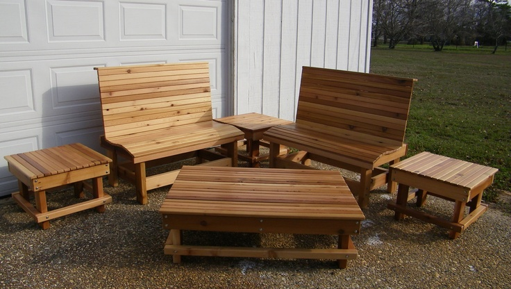 western cedar outdoor furniture woodworking projects