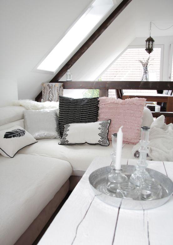 Wunderbar Dachgeschosswohnung, Dachgeschoss, Wohnung Renovieren, Vorher Nachher,  Sanieren, Einrichtungstipps