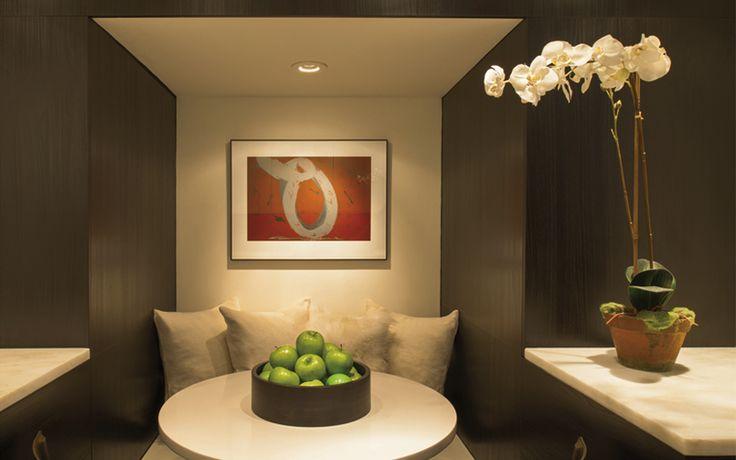 Интерьер пентхауса в Вашингтоне отделан в стиле модерн