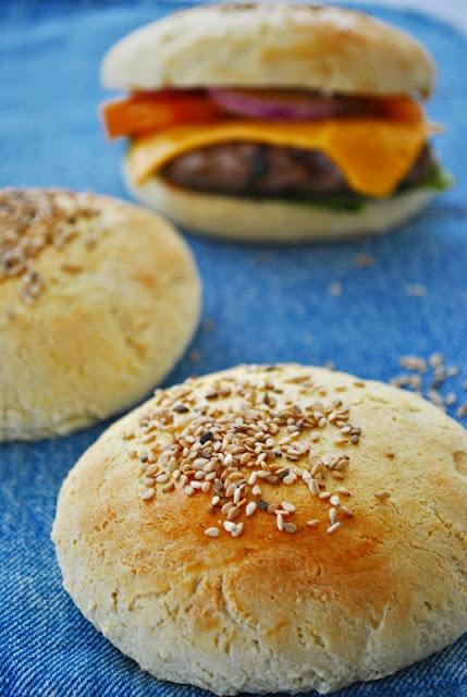 Panini per hamburger senza #glutine