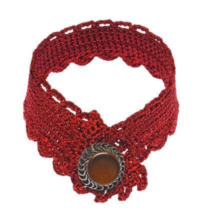 Handmade special design crochet bracelet. Unique by JustBracelet