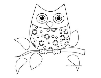 owl+coloring+pages | Bored No More: Crazy About Owl Crafts :)