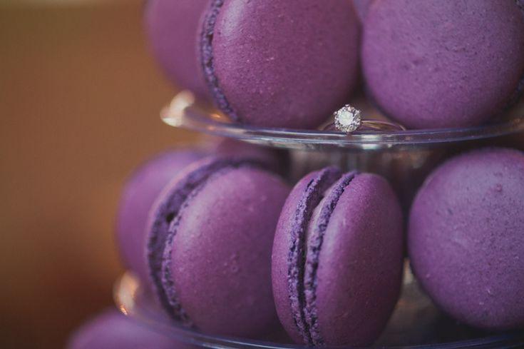Ultra Violet Wedding Pantone Colour 2018 https://karibellamy.com/. Ultra violet macaroons?  Yes please!