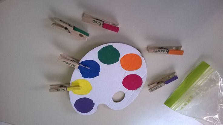 kleuren associëren 7-Sprong Kemzeke L4 voor K3