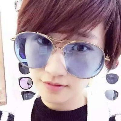 Cat Eye Shape Frame Decorated Simple Design Forever21 Blue. Simple and must have it! REPIN if you love it.😍 Only 174.5 IDR