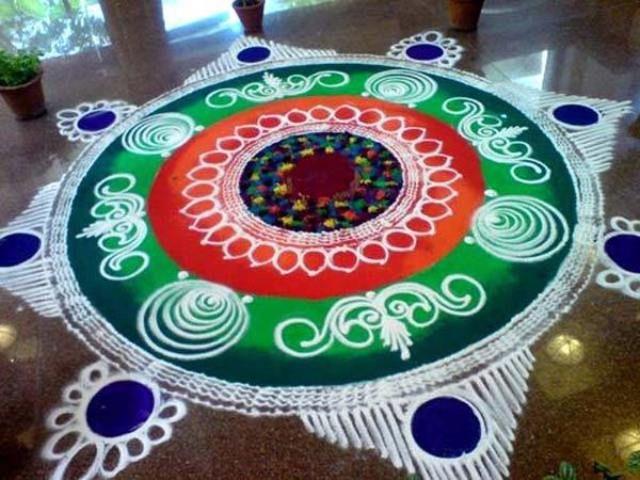 Latest #SanskarBhartiRangoli Designs Images, Wallpaper, Video for This #Diwali : - http://www.managementparadise.com/forums/trending/291664-latest-sanskar-bharti-rangoli-designs-images-wallpaper-video-diwali.html