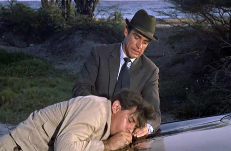 """Now talk.""  Bond wants information from Mr. Jones in, ""Dr. No."""