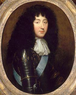 Philippe de France, Monsieur, duc d'Orleans (1640-1701), third quarter 17th century, school of Pierre Mignard (Chateau de Versailles)