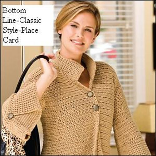 Ravelry: Project Gallery for The Bottom Line - Classic Style pattern by Tammy Hildebrand