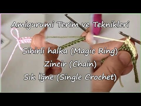 Ücretsiz Amigurumi Videoları / Free Amigurumi Videos