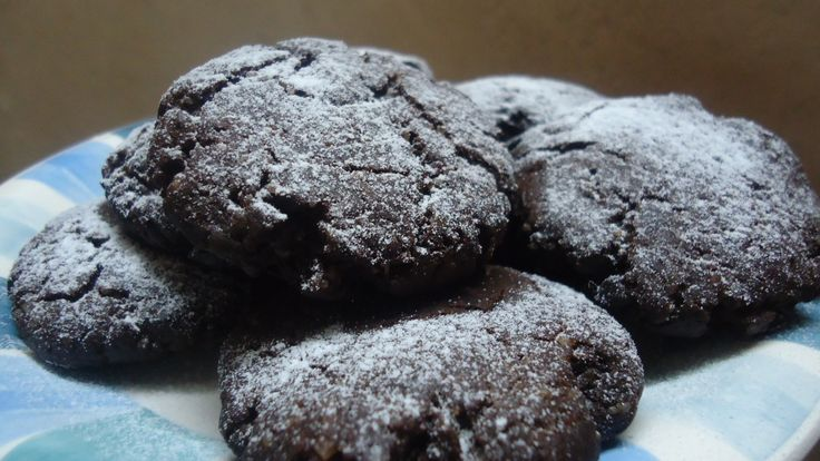 yummiest and most easy chocolate cookies :-) Deliciously chocolatey goodness in every bite, with step by step photos.