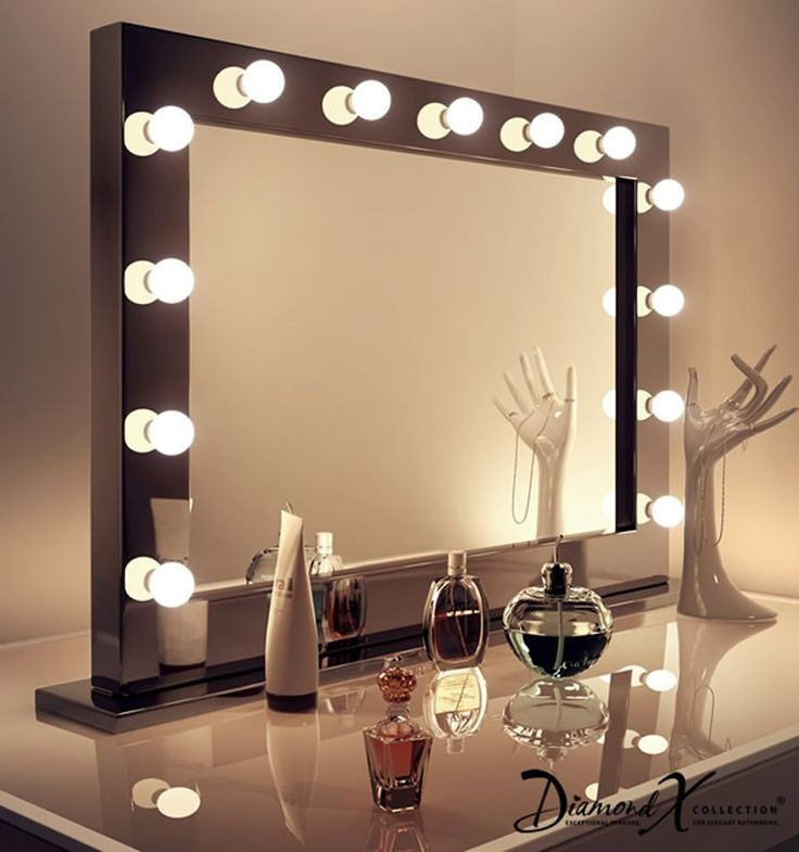 8 Best images about Theatre mirrors on Pinterest | Mirror with led ...:Really excited to get this GLAM mirror for my new dressing room!,Lighting